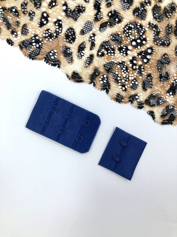 Застёжка текстильная ультрамарин 2х3