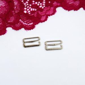 Крючок металлический бельевая фурнитура 1.5 см серебро