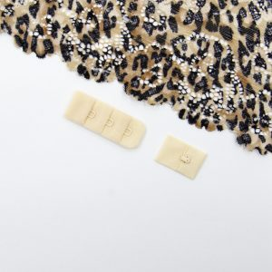 Застёжка текстильная бежевый 1х3