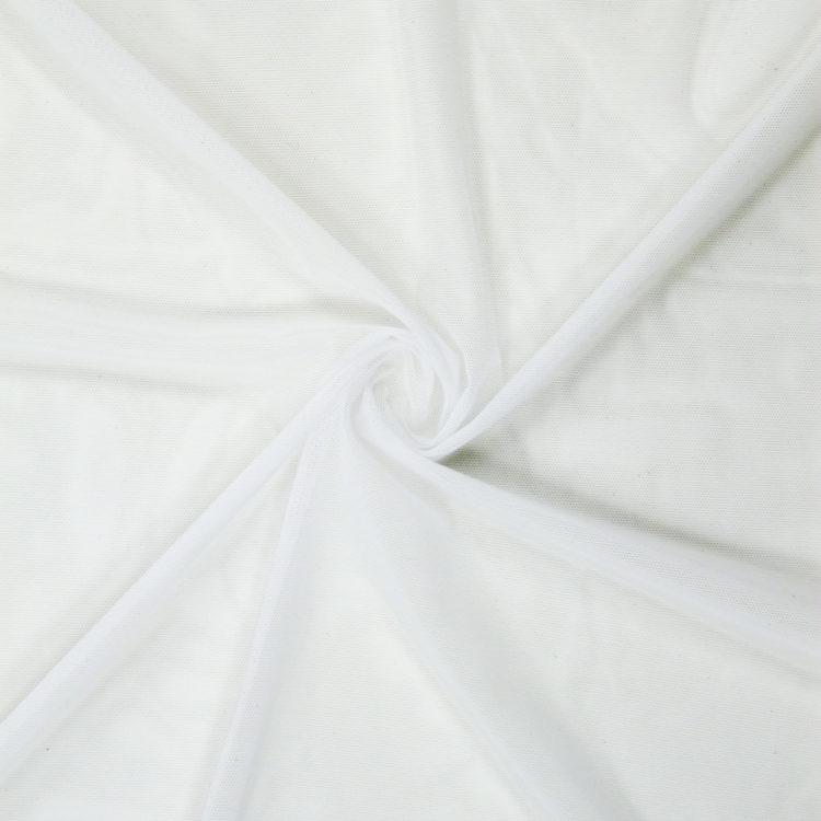 Сетка эластичная бельевая белая