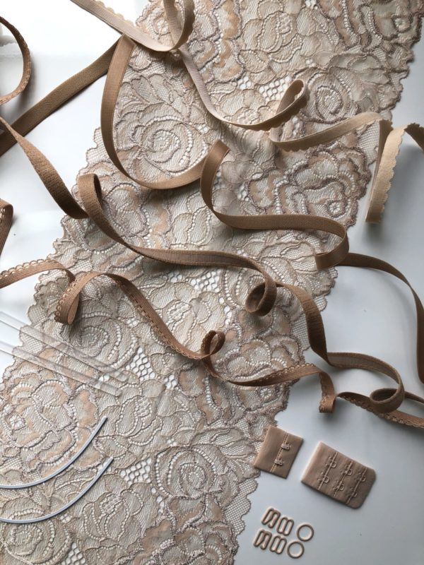 Набор для пошива нижнего белья бежевый №215