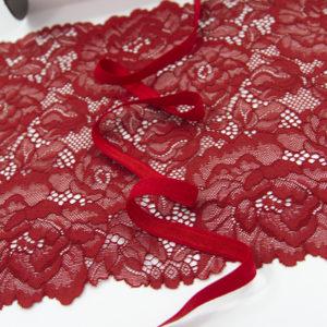 Резинка становая 10 мм красная