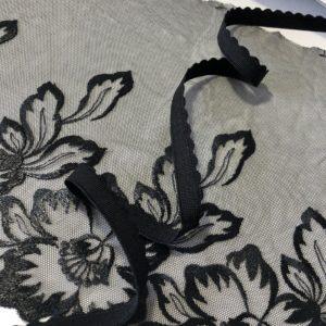Резинка становая 12 мм чёрная