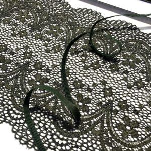 Резинка бельевая 6 мм хаки