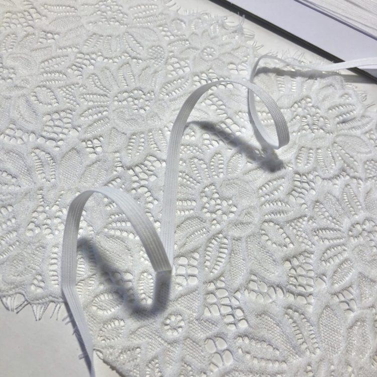 Резинка бельевая 6 мм белая