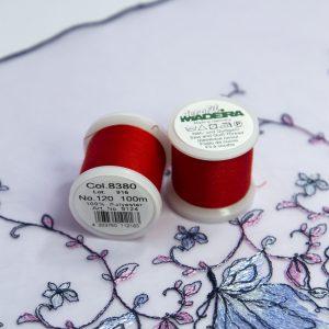 Нитки швейные Madeira aerofil №120 Col. 8380 красный