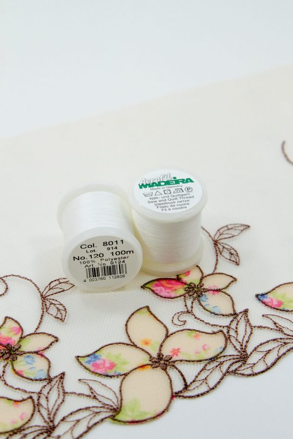 Нитки швейные Madeira aerofil №120 Col. 8011 белый