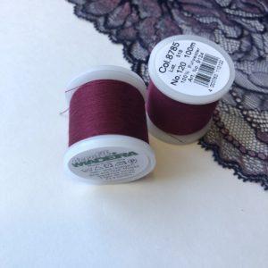 Нитки швейные Madeira aerofil №120 слива col. 8785