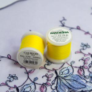 Нитки швейные Madeira aerofil №120 Col. 8230 жёлтый