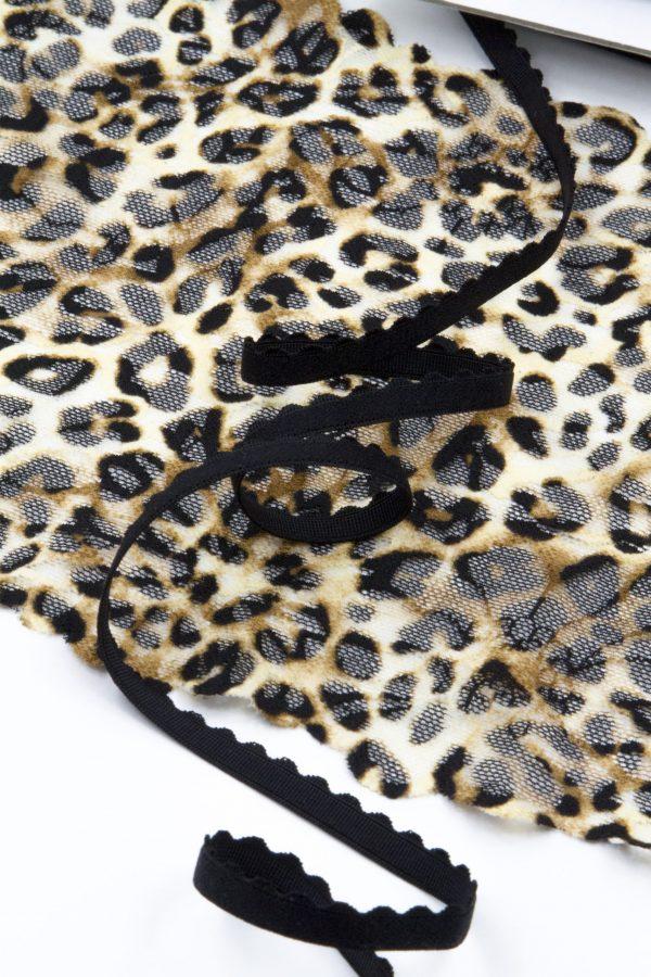 Резинка бельевая 8 мм чёрная
