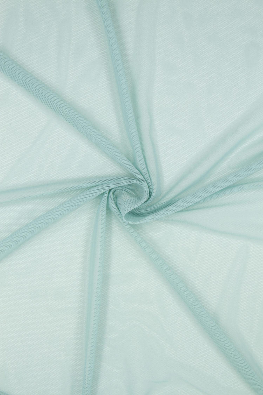 Сетка эластичная бельевая пастельно-бирюзовое
