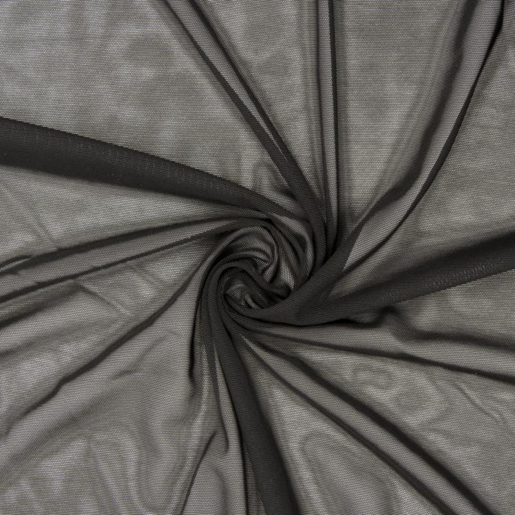 Сетка эластичная бельевая утяжка чёрная
