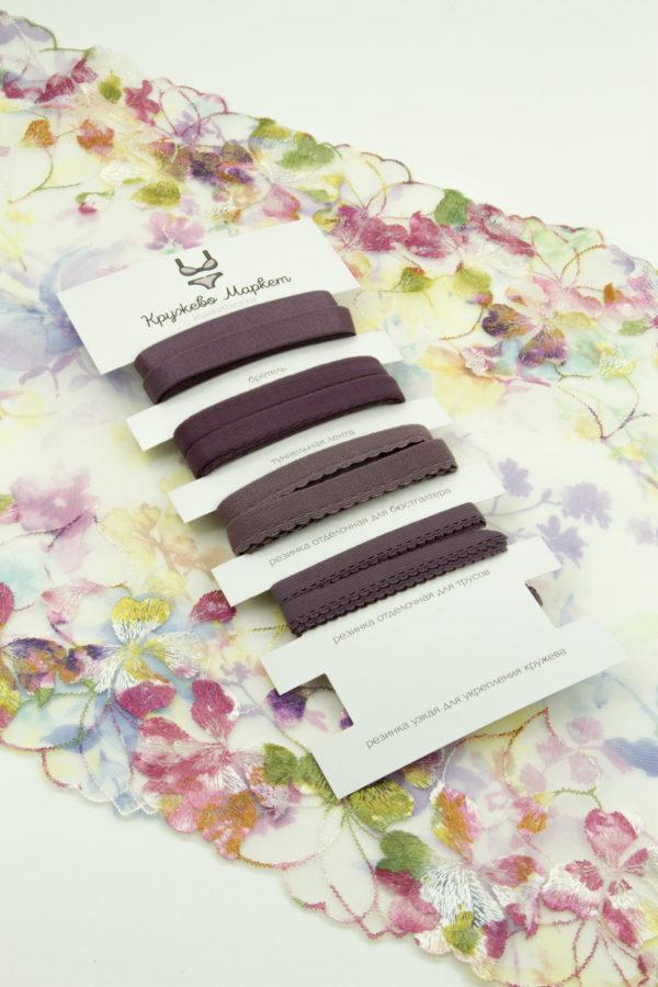 Набор резинок крокус для пошива нижнего белья