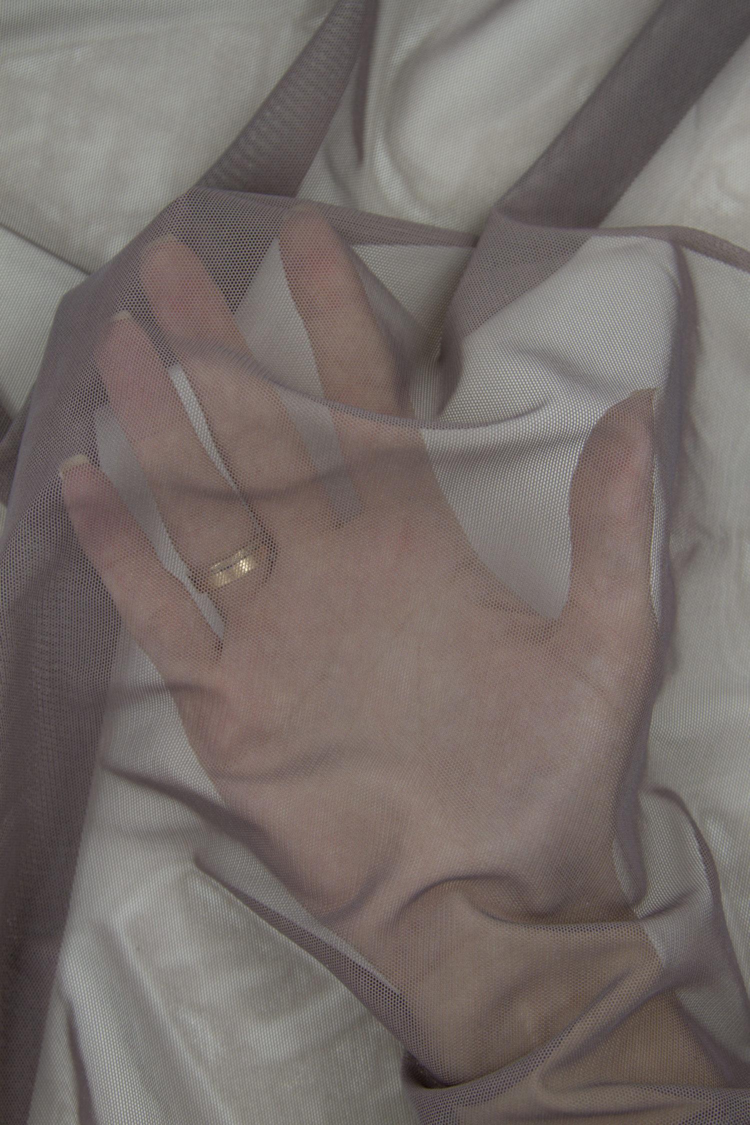 Сетка эластичная бельевая сливовый трюфель